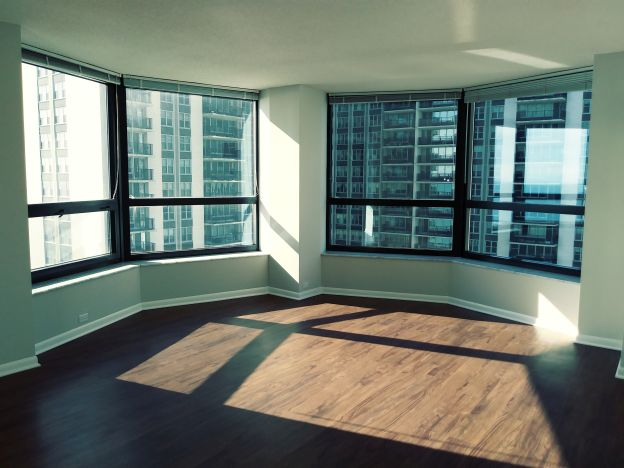 View from Streeterville Chicago Luxury Apartment/Condo
