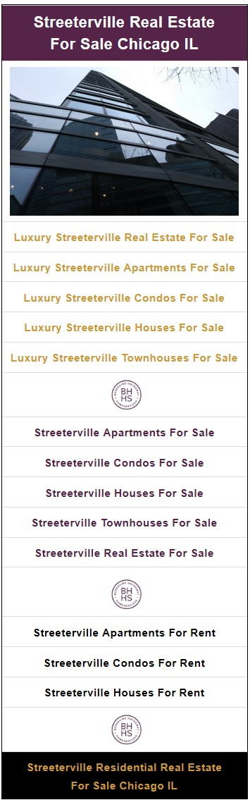 Streeterville Apartments, Condos, Townhouses for Sale and Rent